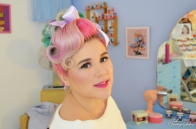 Pin curl up do