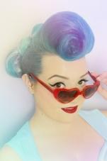 Coral Mermaid Campaign Shot - Le Keux Cosmetics