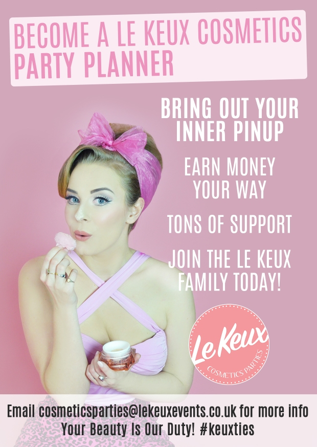 Le Keux - Cosmetics Parties - Become a party planner