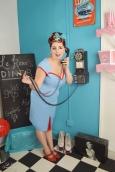 Le Keux Vintage Salon and Cosmetics - Vintage Pin Up Diner- Hannah 1