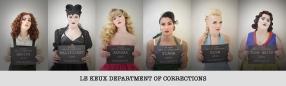 Le Keux - Disney Bound Mugshot Lineup - Department of corrections