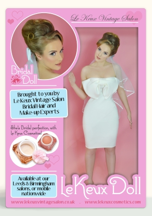 Le Keux Vintage Salon & Cosmetics - Le Keux Dolls - Bridal Doll