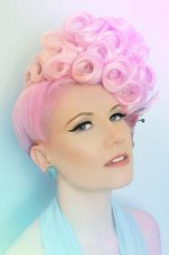 Peachy Keen Campaign Shot Le Keux Cosmetics