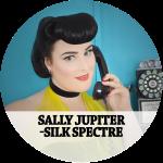 Sally Jupiter - Silk Spectre Hair