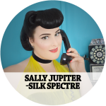 Sally Jupiter - Silk Spectre Hair