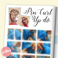 VR101 Promo - pin curl up do