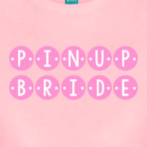 pinup-bride-pink-womens-premium-t-shirt