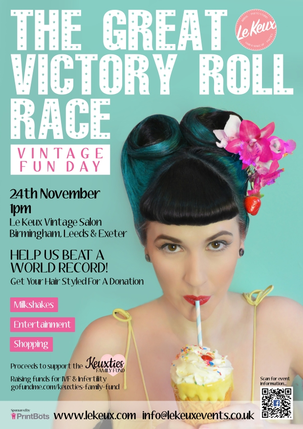 The Great Victory Roll Race - Le Keux