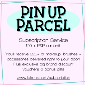 Pin Up Parcel Subsription Service